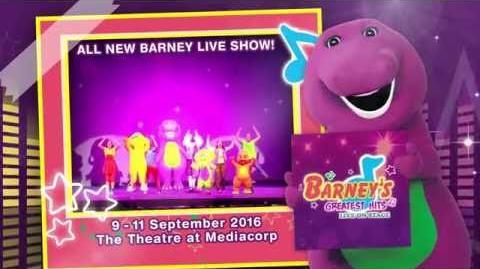 Barney's Greatest Hits 15s