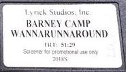 Camp Wannarunnaround Screener Label