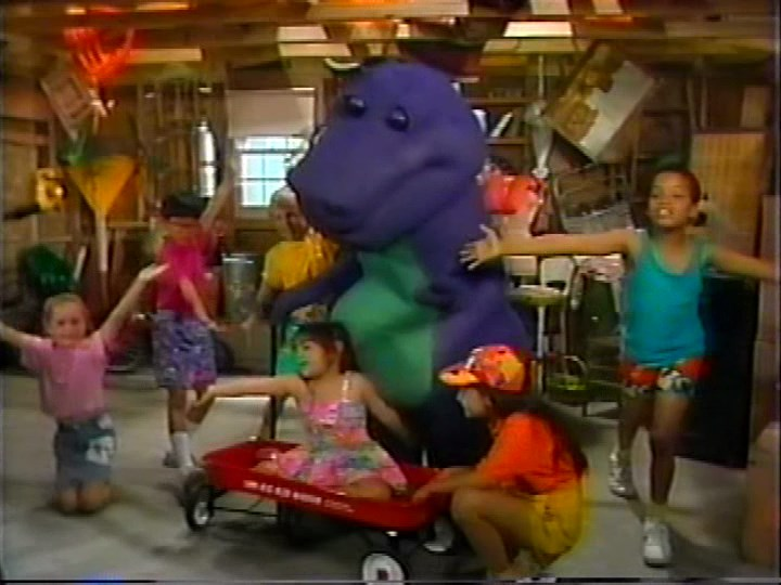 Barney The Backyard Show Original Version the backyard show | barney wiki | fandom poweredwikia