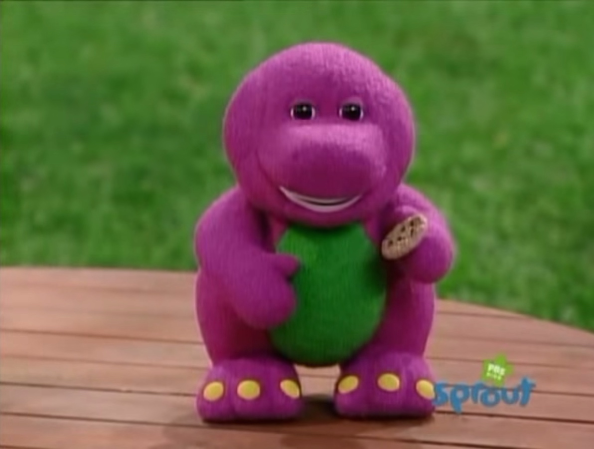 Barney Plush Doll I Love You Song Dinosaur