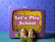 Let's Play School Title Card