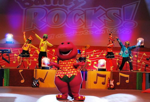 Image Barney Rocks En Concert Vivojpg Barney Wiki FANDOM - Concert barney wiki