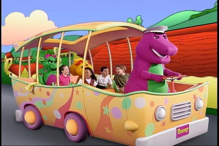 Barney S Adventure Bus Barney Wiki Fandom Powered By Wikia