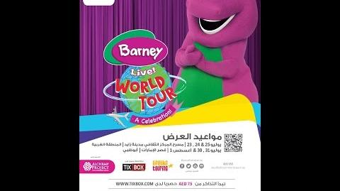 Barney LIVE! World Tour - Celebration