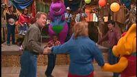 Barney - Let's Go To The Farm Trailer
