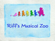 Riff's Musical Zoo title card (original version)