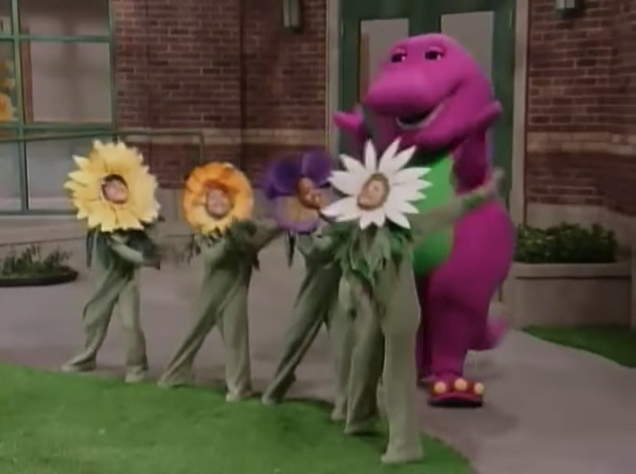 What makes a flower so pretty barney wiki fandom powered by wikia what makes a flower so pretty mightylinksfo Images