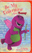 Be My Valentine, Love Barney (VHS) Cover
