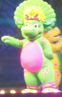 1st Barney LIVE Baby Bop Costume