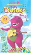 More Barney Songs 2000 UK VHS