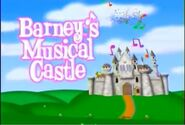 Barney's Musical Castle Title Card