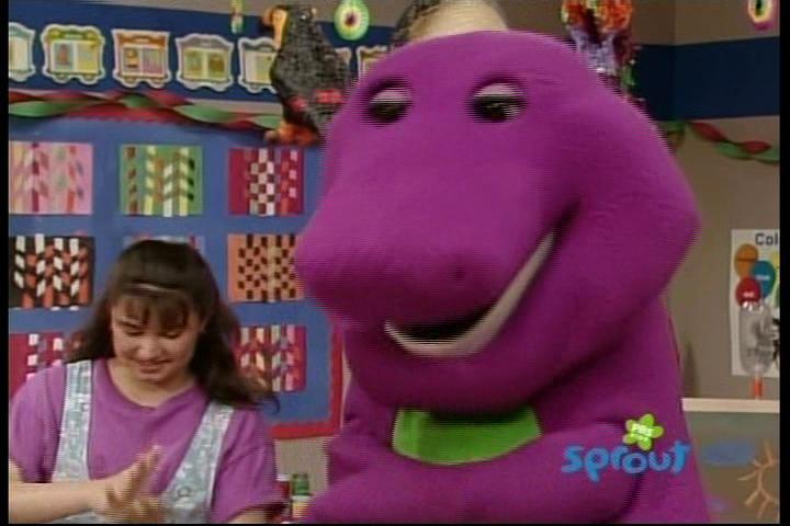 Barney Making Cake Games