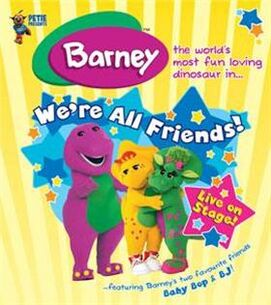 483668 thumbnail 280 Barney We re All Friends Barney We re All Friends