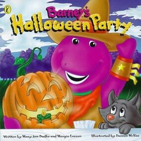 Barney Halloween Party book