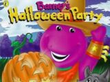 Barney's Halloween Party (Book)