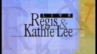 Barney on Live! with Regis & Kathie Lee (1997)