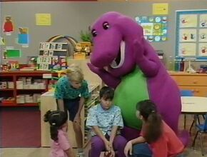 Barney hop to it