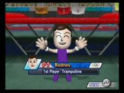 Rodney (Mii) from Mario and Sonic at The Olympic Games