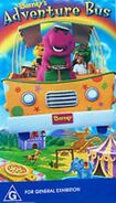 Barney's Adventure Bus Australian VHS (1999)