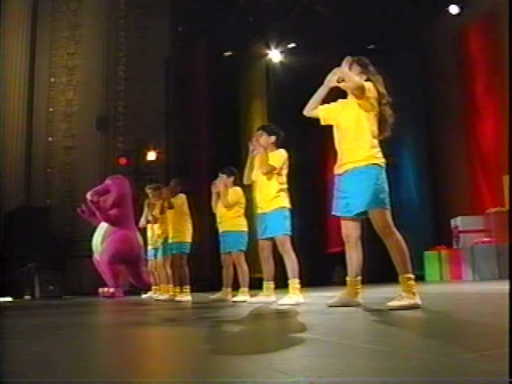 Barney Backyard Gang Concert we are barney and the backyard gang | barney wiki | fandom powered