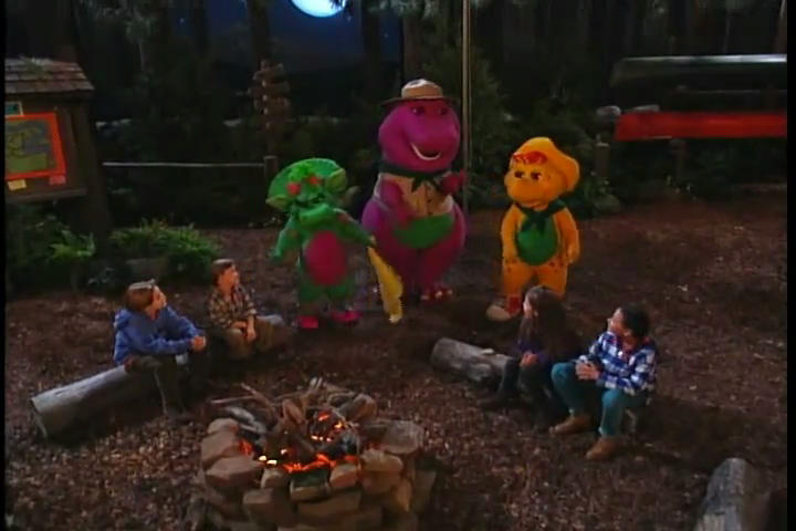 Listen To The Night Time Barney Wiki Fandom Powered By