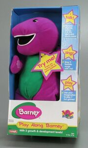 Play Along Barney Box