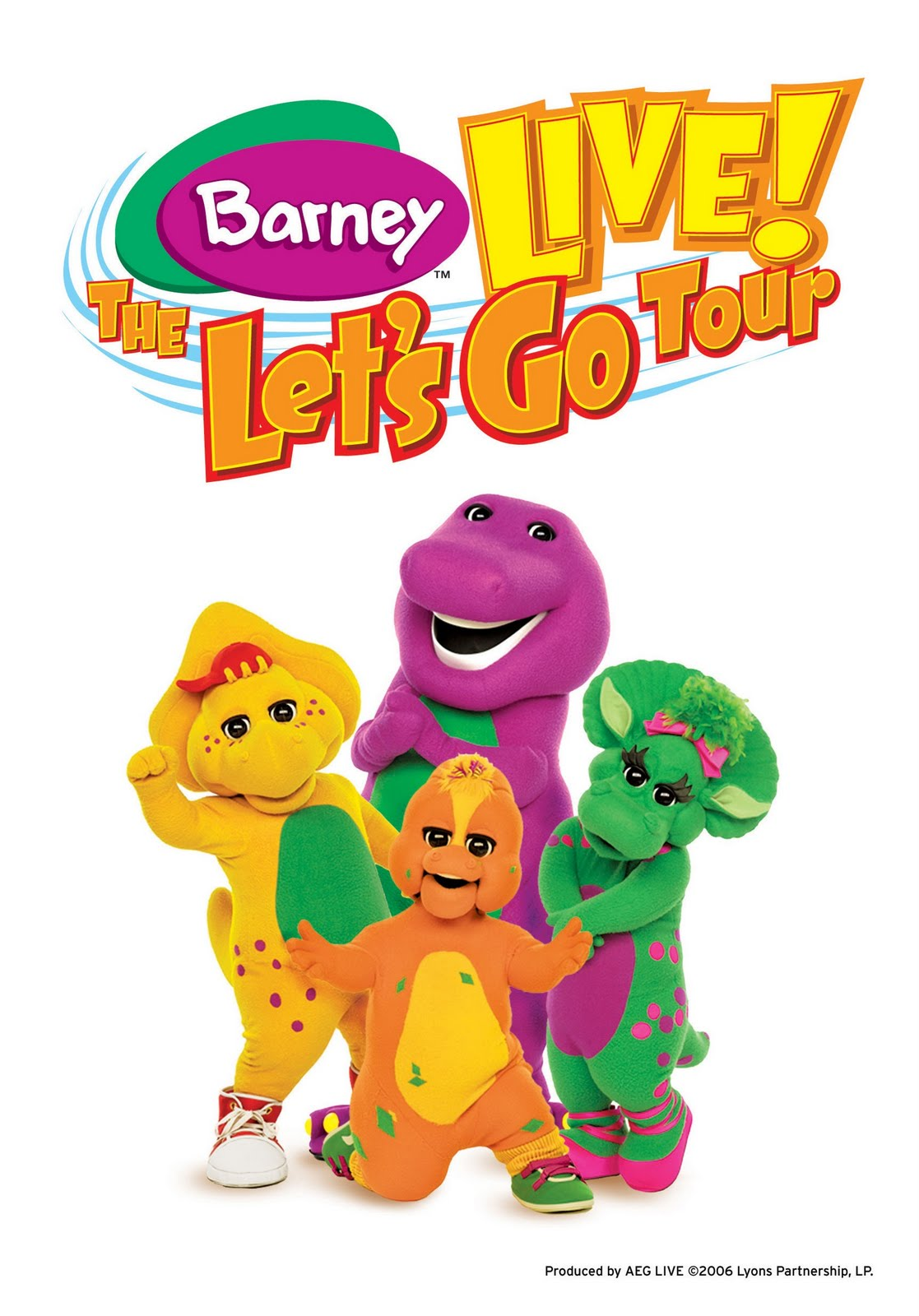 barney live the let u0027s go tour barney wiki fandom powered by
