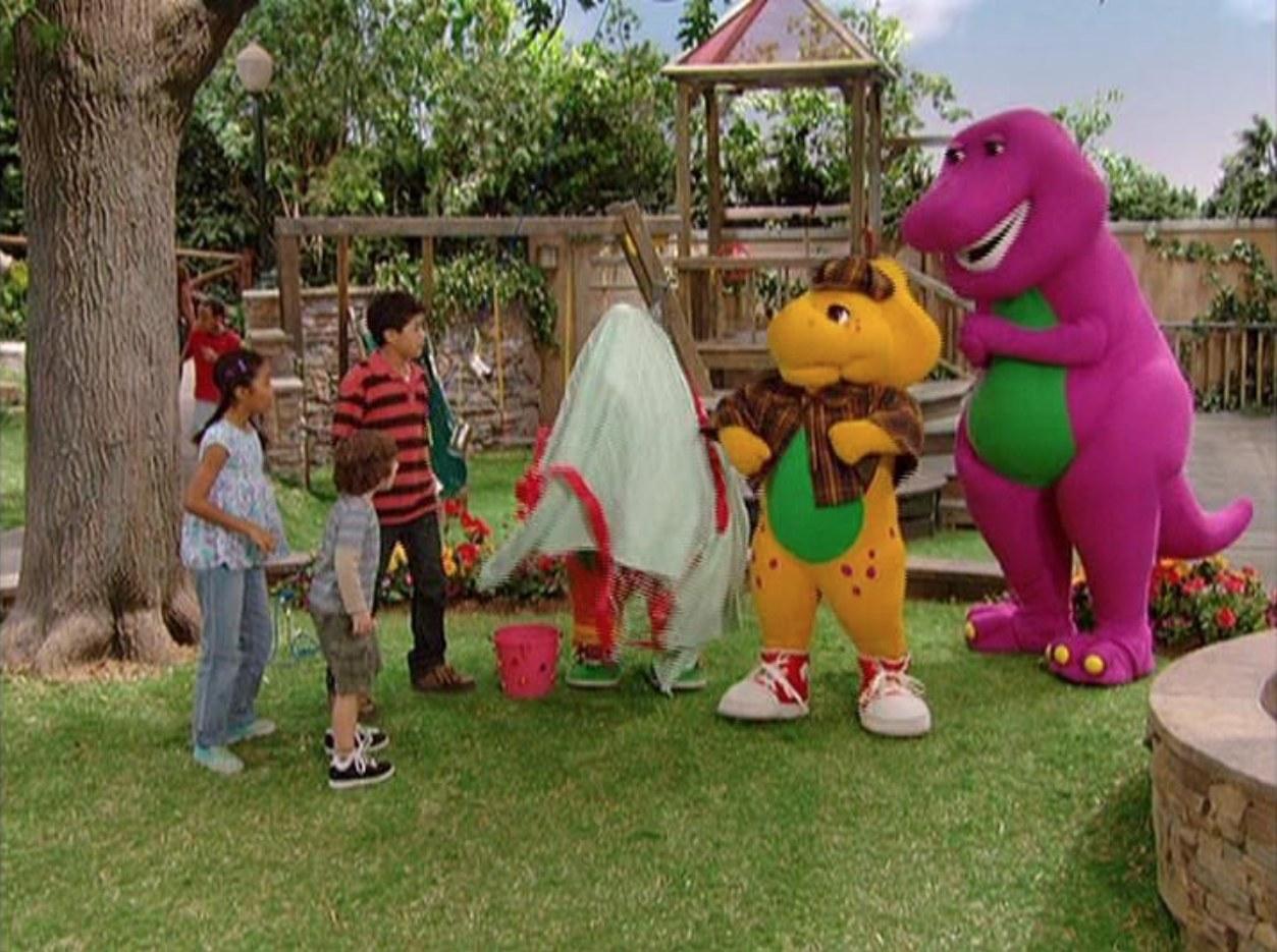 To Catch a Thief: A Mystery Adventure | Barney Wiki | FANDOM powered ...