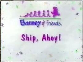 Ship, Ahoy! Title Card