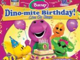 Barney's Dino-Mite Birthday! - Live On Stage