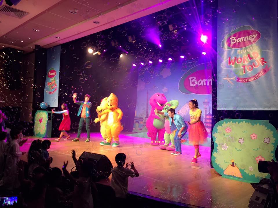 Barney Live World Tour A Celebration Barney Wiki