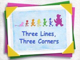 Three Lines, Three Corners