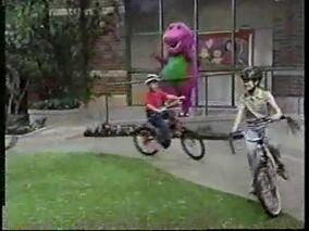 Ridingonabike