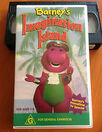 Barney's Imagination Island Australian VHS