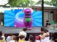 Barney at the Bronx Zoo