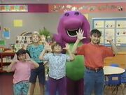 Our Friend Barney Has A Face