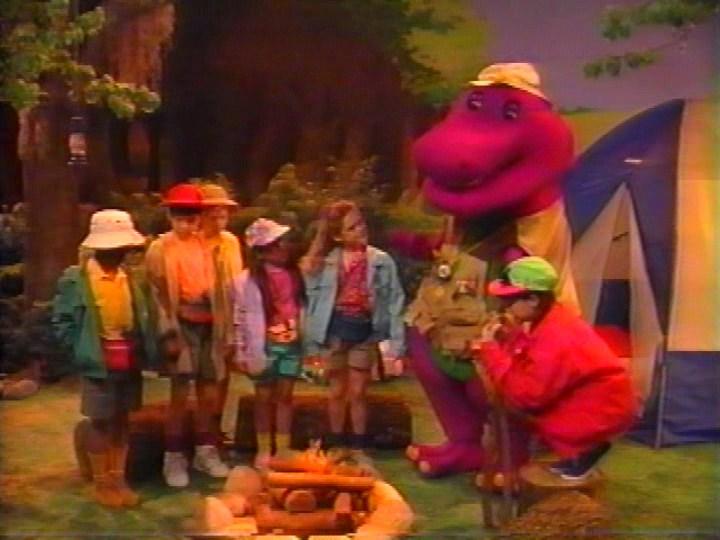 Barney And The Backyard Gang I Love You campfire sing-along | barney wiki | fandom poweredwikia