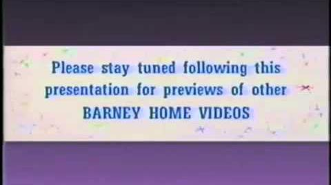Barney Home Videos Please Stay Tuned 2