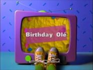 Birthday Ole PBS