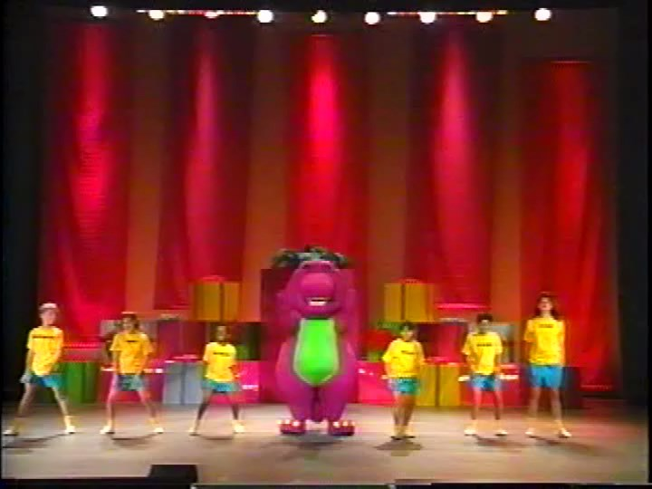 Barney & The Backyard Gang Barney In Concert the backyard gang rap | barney wiki | fandom poweredwikia