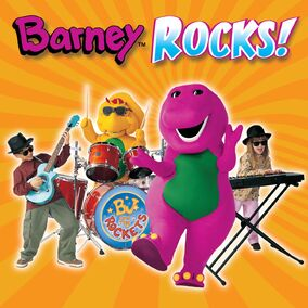 Barney Rocks CD