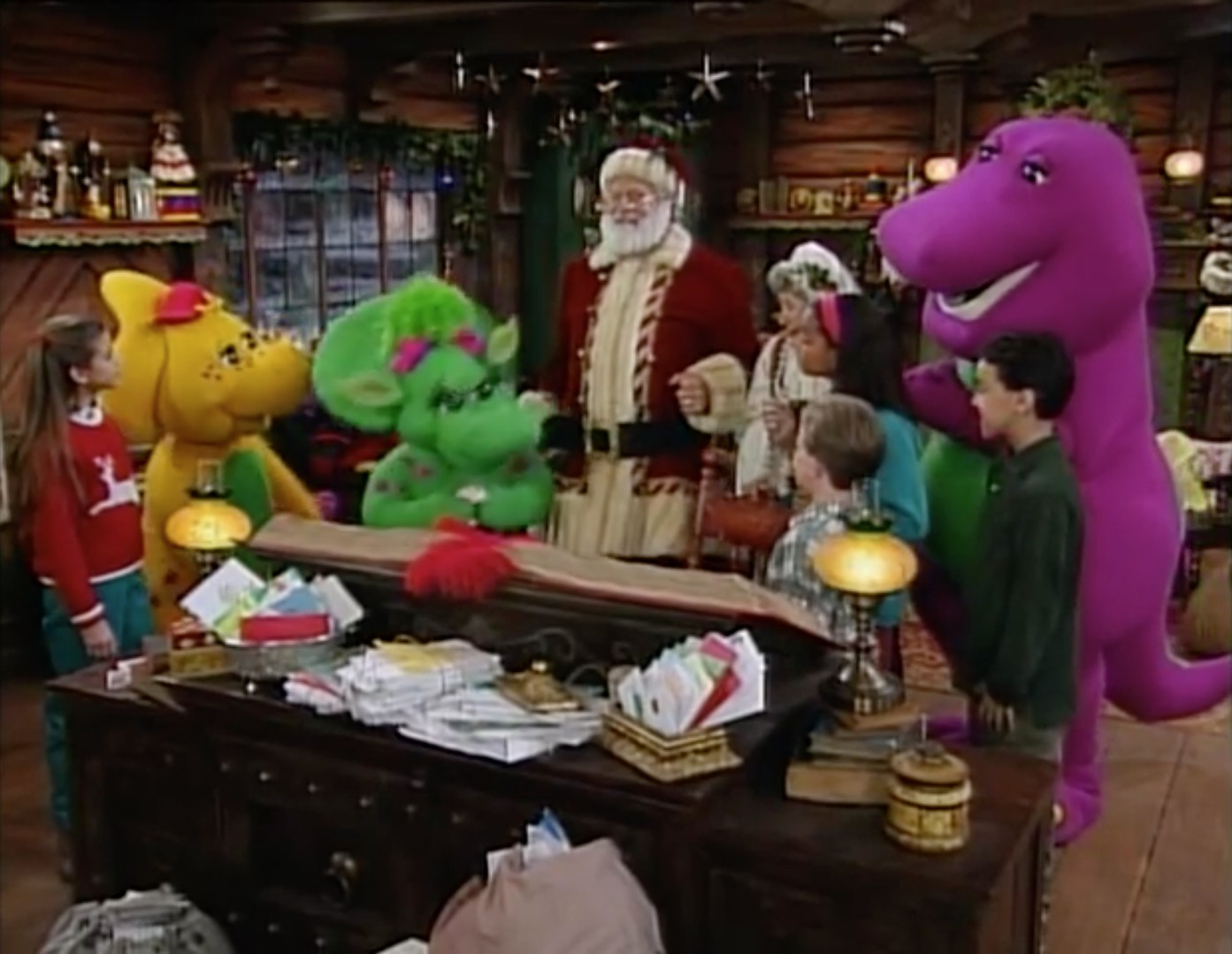 Opening And Closing To Barney's Night Before Christmas ...
