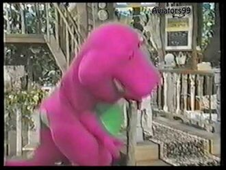 Barney the Dinosaur Outtakes - Tripping T-Rex! (Count Me In! - S6E08)