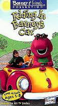 Riding In Barney's Car VHS Cover