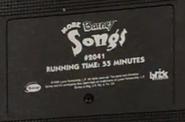 More Barney Songs Screener Label