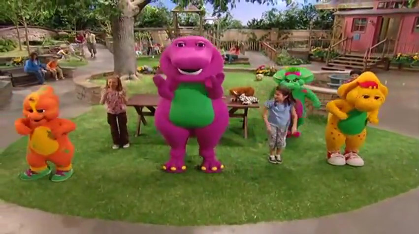 The Animal And Alphabet Matching Game Barney Wiki Fandom Powered