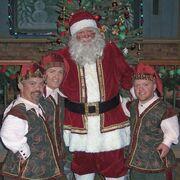 A Visit to Santa Behind the Scenes