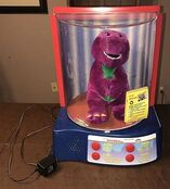 Rare-Display-Barney-Actimates-Interactive-Moving-Talking-Doll