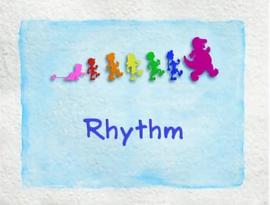 Rhythm title card
