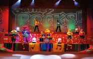 Barney Rocks en Concert